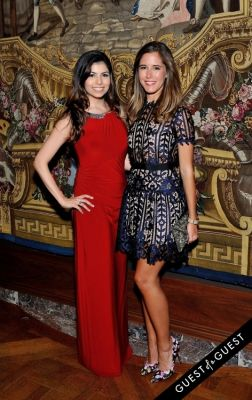 amanda thrower in The Frick Collection Young Fellows Ball 2015