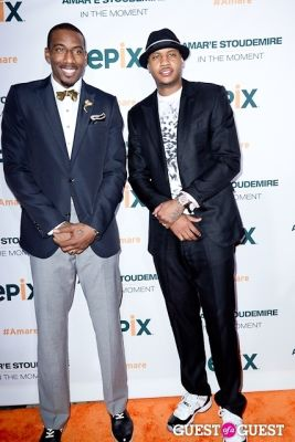 carmelo anthony in Amar'e Stoudemire In The Moment Premiere