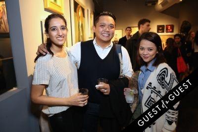 geffrey yabes in Select celebrates at Arcadia Gallery