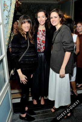 olivia chantecaille in Monica + Andy Baby Brand Celebrates Launch of