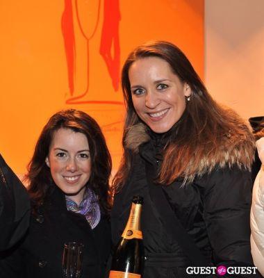 amy britt in Veuve Clicquot celebrates Clicquot in the Snow