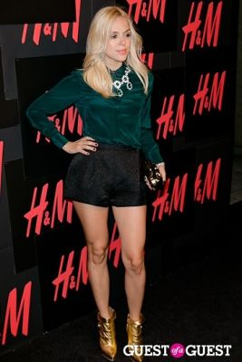 anastasia ganias in H&M Hosts Private Concert with Lana Del Rey