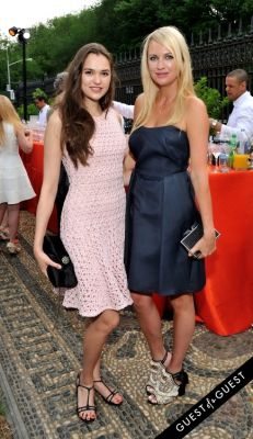 lana smith in Frick Collection Flaming June 2015 Spring Garden Party