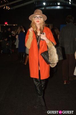 andi eaton in NYC Fashion Week FW 14 Street Style Day 3