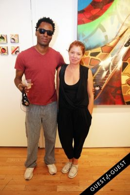 jenifer malicot in Art Now NY Opening of