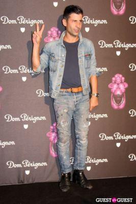 andre saraiva in Dom Perignon & Jeff Koons Launch Party