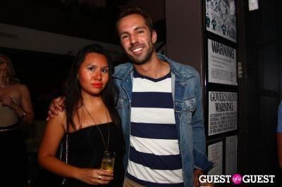 "andrea vividor in Lovecat Mag Issue 5 ""Return of the Bombshell"" Release Party"