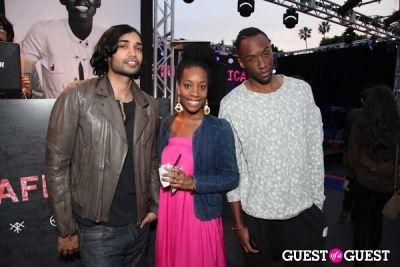 andres matsen in Diesel + EDUN Studio Africa Event At Ron Herman With Solange