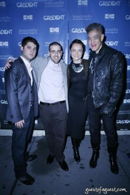 andres serrano in Gradient Magazine Party