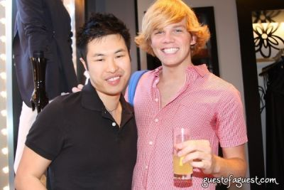 christopher rudolph in Paper Magazine & Tommy Hilfiger Event