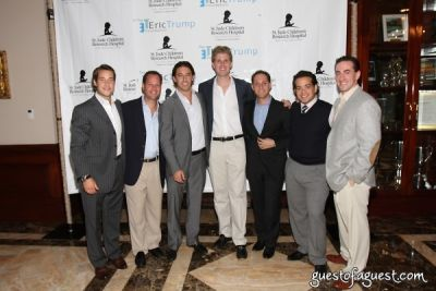 larry glick in The Eric Trump Foundation's Third Annual Golf Invitational for St. Jude Children's Hospital