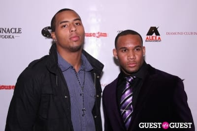 andrew quarless in 1st Annual Pre-NFL Draft Charity Affair Hosted by The Pierre Garcon Foundation
