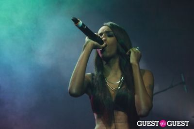 angel haze in Friends 'N' Family Pre-Grammy Party