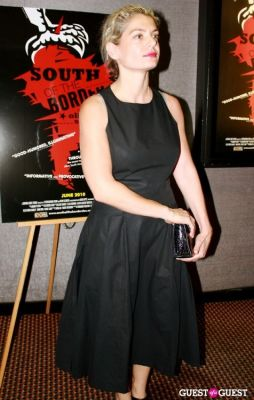 angela ismailos in NY Premiere of 'South of the Border'