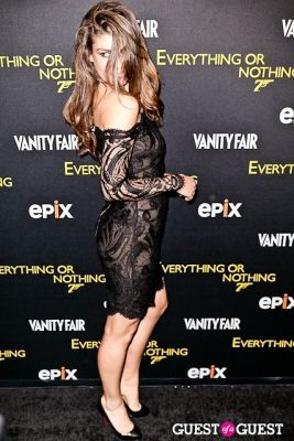 angela martini in EPIX & Vanity Fair Present: Documentary, 50 Years of James Bond