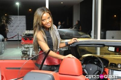 angela simmons in The ELEQT Grand Launch Party