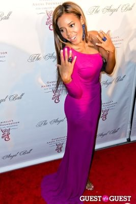 angela simmons in Gabrielle's Angel Foundation Hosts Angel Ball 2012