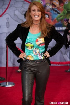 angie everhart in Premiere Of Disney's