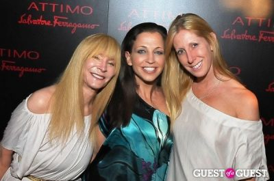 heidi kelso in Celebration for Salvatore Ferragamo's New Perfume ATTIMO