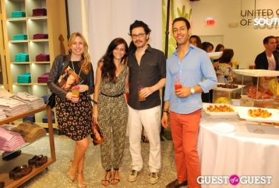 raul gonzalez--right- in United Colors of Benetton and PAPER Magazine celebrate the launch of new Benetton