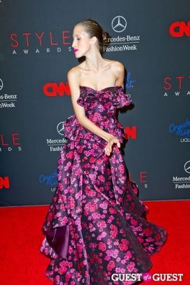 anna cleveland in The 10th Annual Style Awards