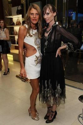 anna dello-russo in Last Night's Parties: Anna Wintour, DVF, Alexa Chung & More Hit The Streets For FNO 9/7/2012