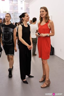 jenny hamblett in Third Order exhibition opening event at Charles Bank Gallery