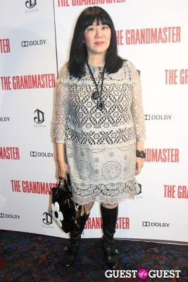 anna sui in The Grandmaster NY Premiere