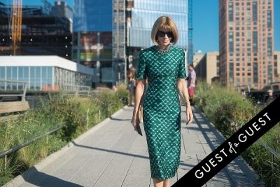 anna wintour in Fashion Week Street Style: Day 7