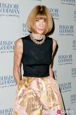 anna wintour in Bergdorf Goodman celebrates it's 111th Anniversary at the Plaza