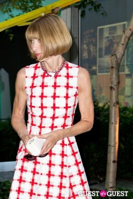 anna wintour in MOMA Party In The Garden 2013
