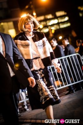 anna wintour in Giorgio Armani One Night Only NYC event.