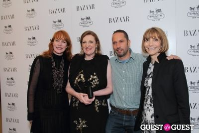 anne grauso in Harper's Bazaar Greatest Hits Launch Party