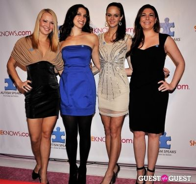 melissa gorman in SheKnows.com Campaign Launch Benfitting Autism Speaks