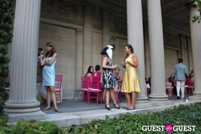 annika connor in The Frick Collection's Summer Garden Party