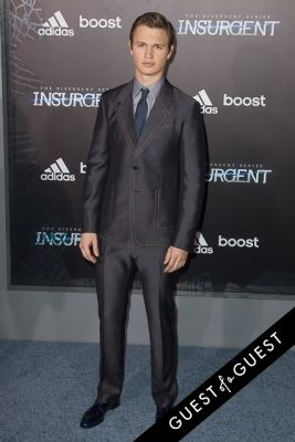 ansel elgort in Insurgent Premiere NYC