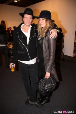 anthony james in Art Los Angeles Contemporary Opening Night Reception