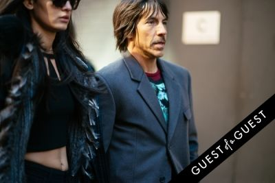 anthony kiedis in NYFW Street Style Day 7