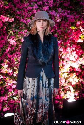 anya ziourova in Chanel Hosts Eighth Annual Tribeca Film Festival Artists Dinner