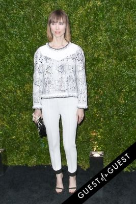 anya ziourova in Chanel's Tribeca Film Festival Artists Dinner