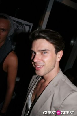 anzor in Lovecat Magazine Party