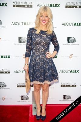 arden myrin in Los Angeles Premiere of ABOUT ALEX