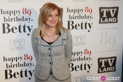 ariana huffington in Betty White's 89th Birthday Party