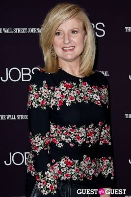 arianna huffington in Jobs (The Movie) Premiere