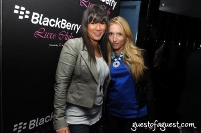ariel moses in Blackberry Party With Benji Madden