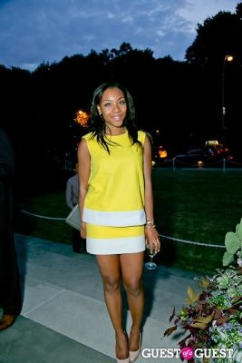 arielle patrick in The Frick Collection Garden Party