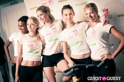 behati prinsloo in Victoria's Secret Supermodel Cycle Ride