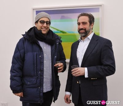 arthur soleimanpour in Bowry Lane group exhibition opening at Charles Bank Gallery