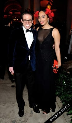 matthew coco in The Frick Collection Young Fellows Ball 2015