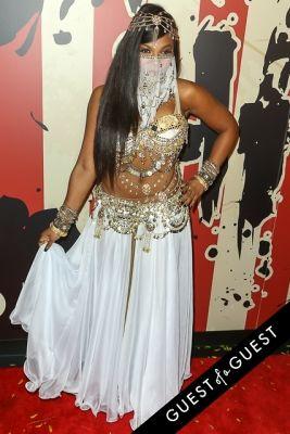 ashanti in Heidi Klum's 15th Annual Halloween Party